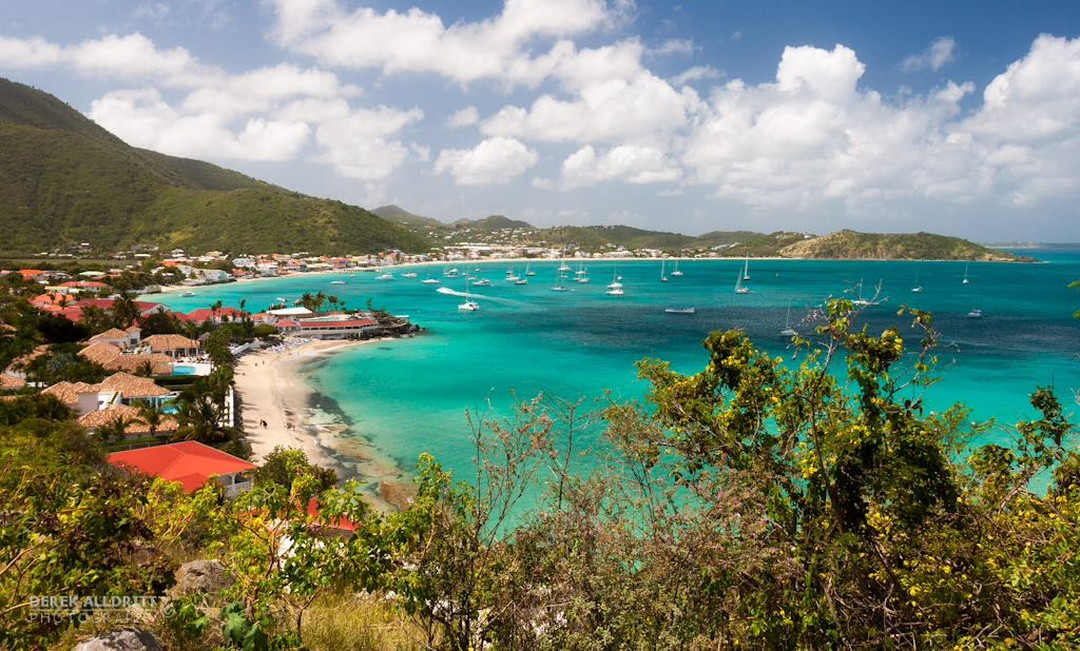 Another beautiful bay we visit regularly -- Grand Case, St Martin