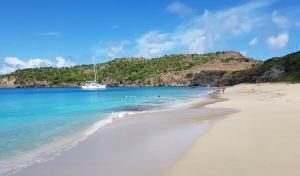 A great Caribbean beach