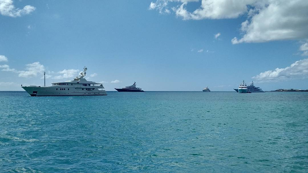 The island recovery is in full swing with more and more mega yachts returning each day – in fact we have 5 anchored behind us today! If you're still looking for a Caribbean getaway, now is the time to book – contact us for details