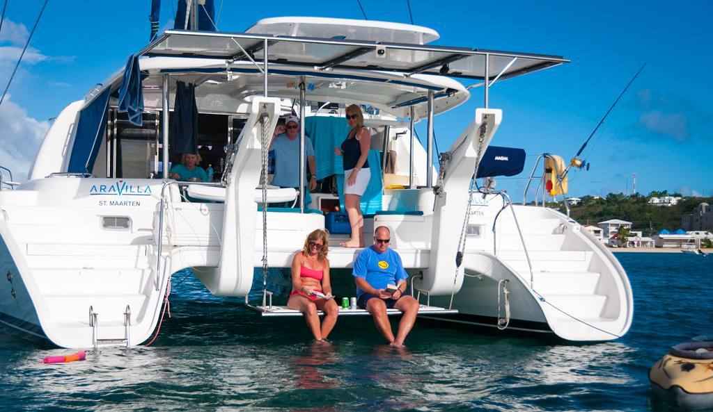 Another tough day on the water for our clients enjoying the Caribbean sun and fun! If you're still looking for a winter getaway, give us an email and book today